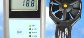 Alat Ukur Kecepatan Angin AM-4832 Digital Anemometer