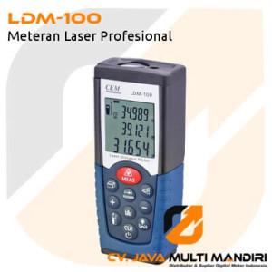 Meteran Laser Profesional LDM-100