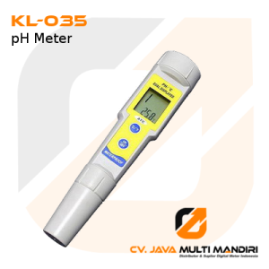 pH Meter Anti Air Seri KL-035