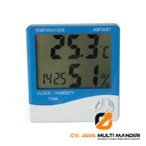 Thermometer Hygro and Clock AMTAST TH90