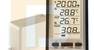 Alat Pengukur Hujan Nirkabel RCC AW012